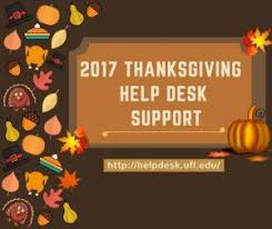 it support during thanksgiving of florida