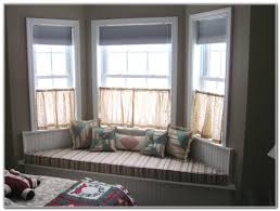 Ideas For Window Treatments by Window Bay Window Blackout Curtains Bay Window Treatments Bay