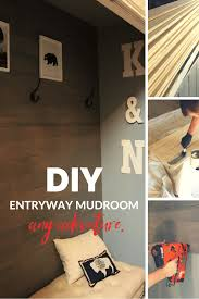 diy entryway organizer diy entryway mudroom any adventure