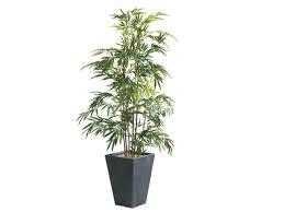 plante verte bureau plante verte artificielle bambou