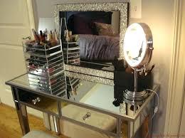 mirrored makeup vanity table vanities vanity sets with lights furniture cheap mirrored makeup