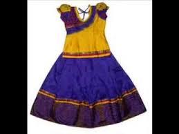 indian kids dresses lehengas or pattu langas youtube