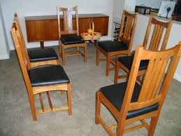 Arts And Crafts Dining Room Set Len U0027s Dining