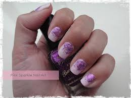 pink sparkle nail art beauty best friend uk beauty blog