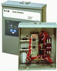 automatic transfer switch transfers between one utility power to