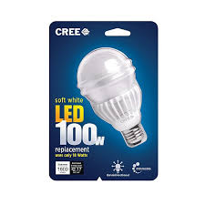 100 watt led light bulb cree adds 100w equivalent led l drops prices on earlier a ls