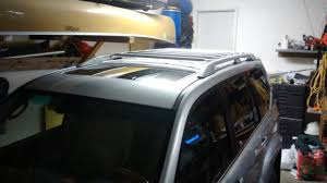 park place lexus spring creek bwca spring creek roof rack bolted to roof boundary waters gear forum