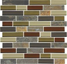 menards kitchen backsplash mohawk phase mosaics and glass wall tile 1 random at