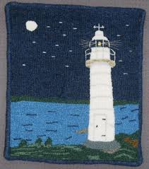 Lighthouse Rugs Rug Hooking Articles Rughookingmagazine Com