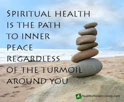 what is the definition of spiritual health it is an inner peace
