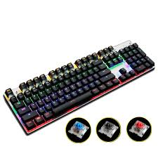 mechanical keyboard amazon black friday deals metoo gaming mechanical keyboard 87 104 anti ghosting luminous