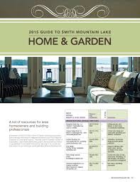 new home construction plans 2015 smith mountain lake home and garden guide by laker media issuu