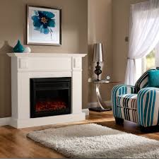 buy luxo grace 1600w electric fireplace heater white online