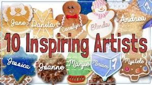 handcrafted holidays online art class with 10 mixed media artists