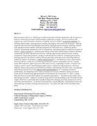 Federal Contract Specialist Resume Bryan Mccreary Resume