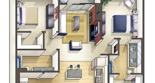 Floor Plan Ikea 500 Sq Ft Apartment Design 3d Plans Ikea Small Apartment Floor