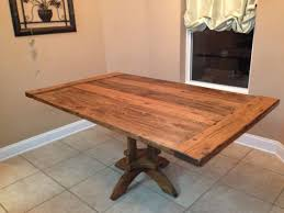 kitchen table solid wood dining table farmhouse kitchen table
