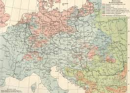 Map Of Central Europe Religions Of Central Europe 1904 Maps U0026 Cartographic Material