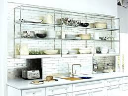 open shelving cabinets ikea open shelving open shelves open kitchen cabinets how to