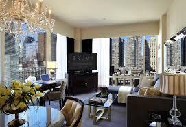 trump living room amid declining bookings new trump hotel brand drops his name 6sqft
