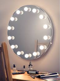 elizabeth hollywood mirror round light mirrors
