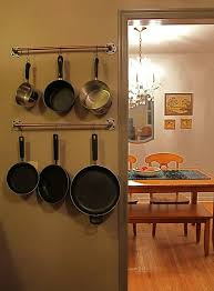 Hanging Pot Rack In Cabinet by 44 Best Pot Racks Images On Pinterest Kitchen Kitchen Ideas And Diy