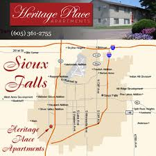 Sioux Falls Map Heritage Place Apartments