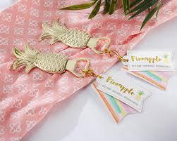 hawaiian themed wedding favors 60 pieces lot hawaiian themed wedding favors of gold pineapple