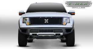 Ford Raptor F150 - t rex ford raptor f 150 svt x metal grille black pt 6715661