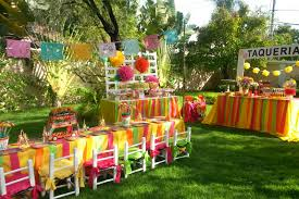 Tropical Party Themes - mexican fiesta party via blossom