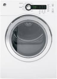 ge dcvh480ekww 24 inch electric dryer with sensor dry dewrinkle