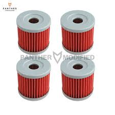new 4 pcs motorcycle engine oil filters case for suzuki drz400