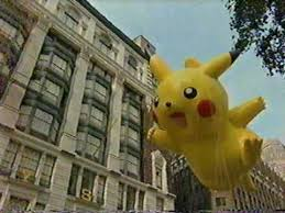 pikachu balloon in macy s thanksgiving day parade 2007