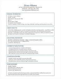 Resume Examples For Experienced Professionals by Resume Resume Template Construction Worker Free Professional Cv