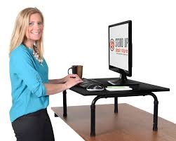 amazon com stand up desk store standing desktop desk 32 inch
