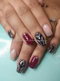 nail art with gelartnailsart gel 29 pink gel polish with freehand