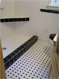 flooring black and white floor tiles for garage bathroom self
