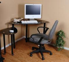 Black Corner Desk With Drawers Desk Wood Corner Desk Plans Free Corner Office Computer Desk