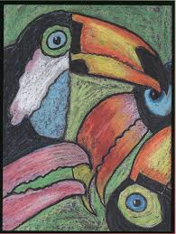 animals of the rain forest art lessons for children educational
