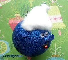 smurf ornaments search tis the season