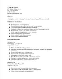 Warehouse Resume Template Free Free Server Resume Templates Free Server Resume Example Server