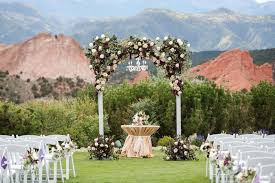 Wedding Venues In Colorado Springs Garden Of The Gods Collection Venue Colorado Springs Co