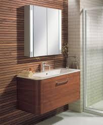 bathroom cabinets bauhaus aluminium double door mirrored