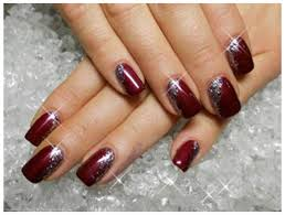 cool new years eve nail designs 2017