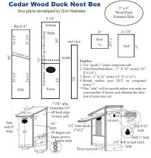 Box House Plans Wood Duck House Building Plans House Design Plans
