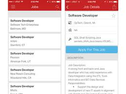 Dice Resume Search 10 Apps To Take Your Job Search Mobile Cio