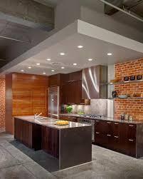 brick kitchen ideas interior decoration contemporray kitchen design with brown