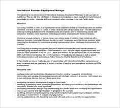 Business Development Job Description Resume by Operations Director Job Description Operations Director Resume