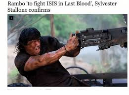 Rambo Meme - rambo to fight isis in last blood sylvester stallone confirms