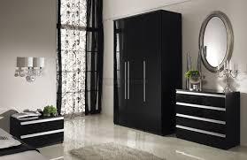 Gloss White Bedroom Furniture Bedroom Brilliant Black Gloss Bedroom Furniture White Marble Floor